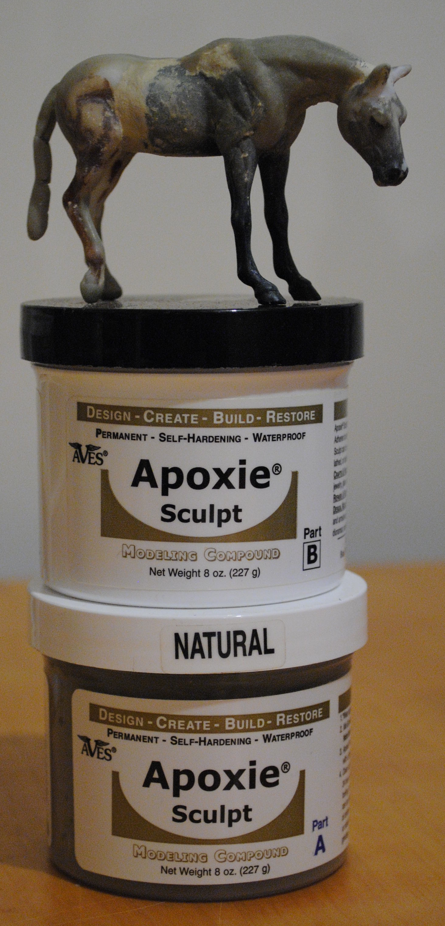 Epoxy Clay Sculpting : Seven worthwhile purchases shoestring stable
