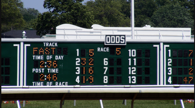 Horse racing the tote board shoestring stable for Show pool horse racing