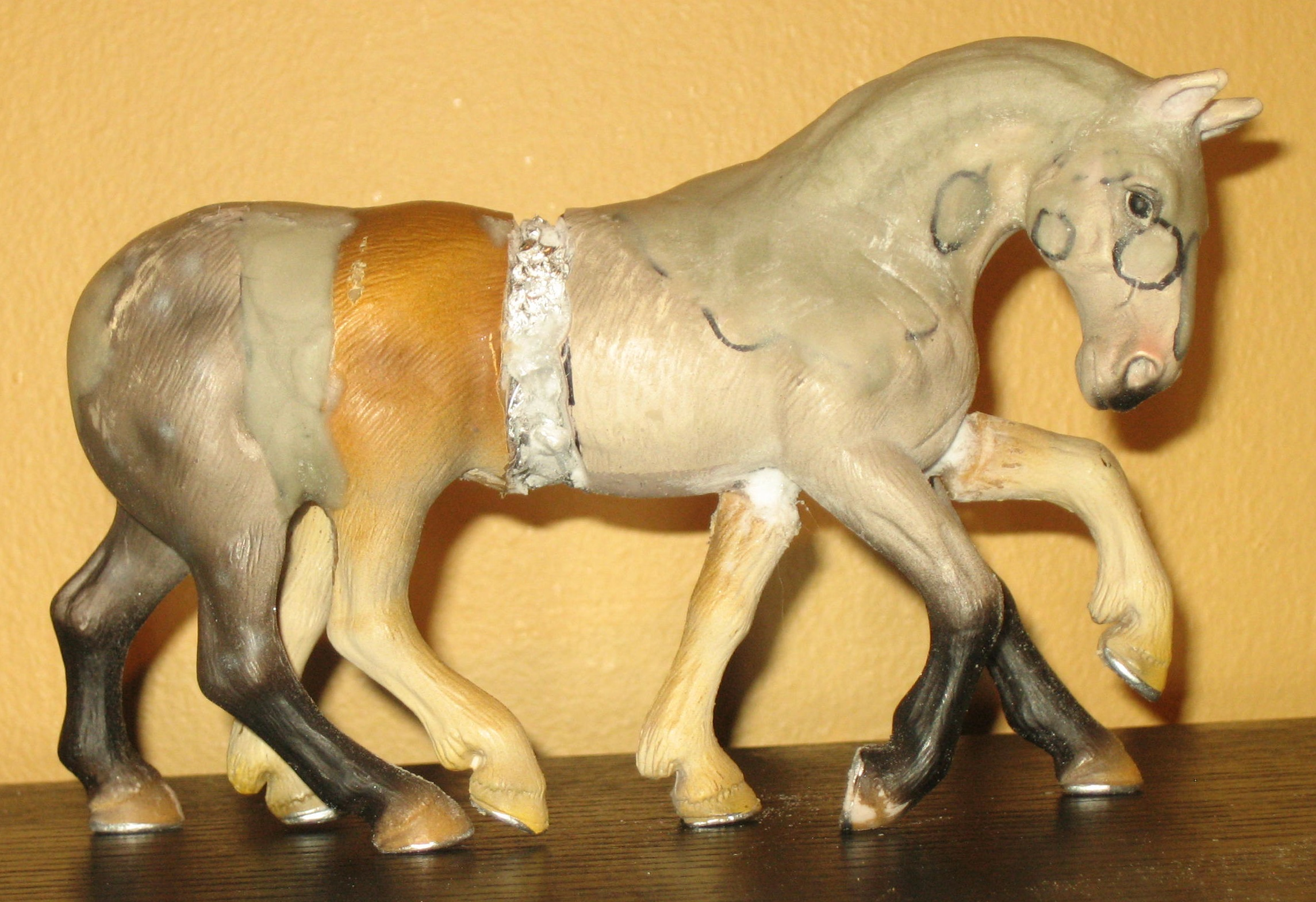Custom Schleich Paint