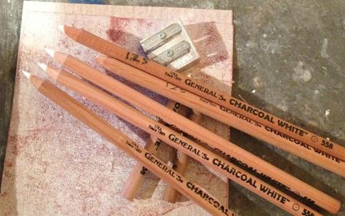 hale - charcoal pencils 2