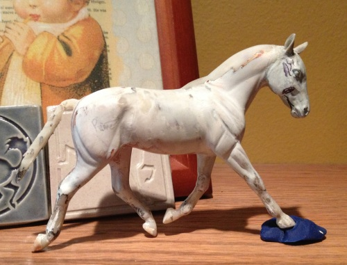 WIP Racehorse Ornament 5-16-13