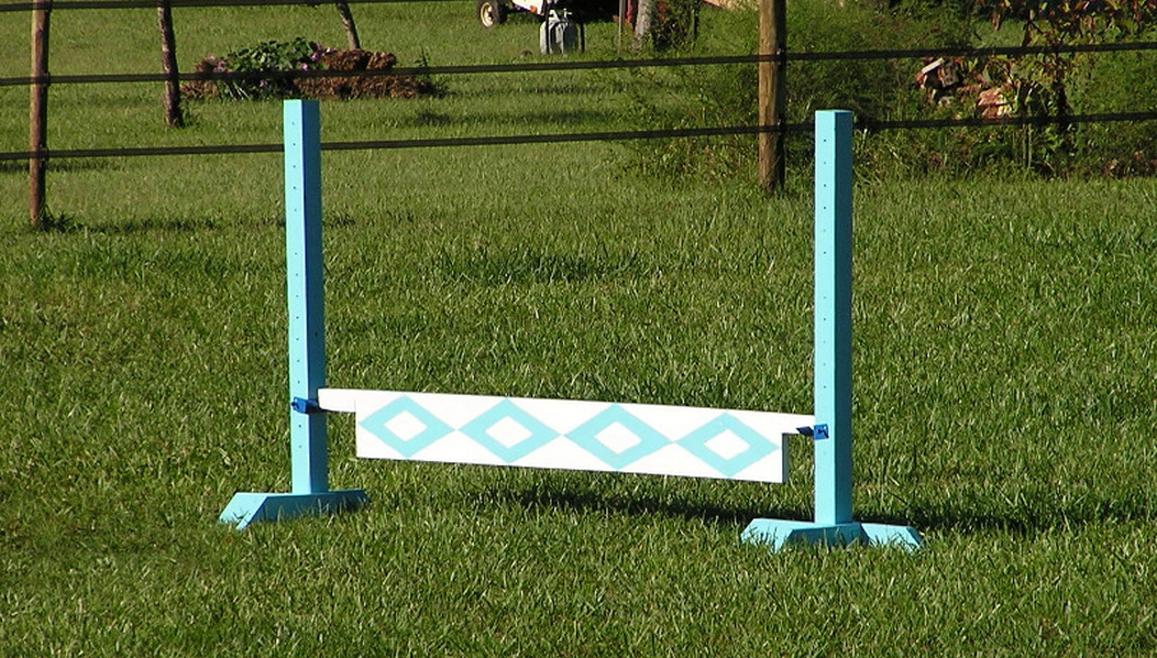 Building A Plank Jump Shoestring Stable