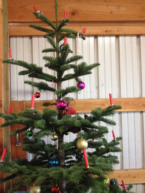 Barn Christmas Tree