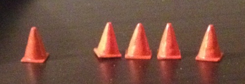 set of cones