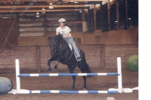 Jumping, circa 2003
