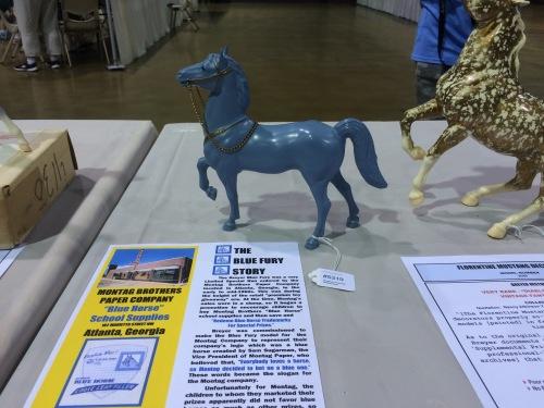 Kristen Wellman's incredibly rare blue Fury